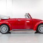 Volkswagen Kever cabrio rood-8356