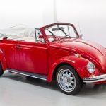 Volkswagen Kever cabrio rood-8363