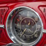 Volkswagen Kever cabrio rood-8373