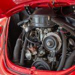 Volkswagen Kever cabrio rood-8377