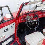 Volkswagen Kever cabrio rood-8378