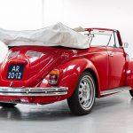 Volkswagen Kever cabrio rood-8381