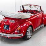 Volkswagen Kever cabrio rood-8382