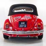 Volkswagen Kever cabrio rood-8386