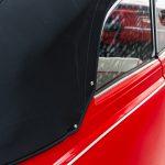 Volkswagen Kever cabrio rood-8387