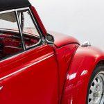 Volkswagen Kever cabrio rood-8389