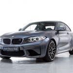BMW M2 grijs-