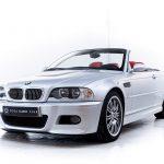 BMW M3 E46 cabrio zilver-