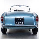 Fiat 1100TV Spider blauw-6012