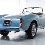 Fiat 1100TV Spider blauw-6014