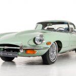 Jaguar E-Type groen-