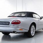 Jaguar XK8 zilver-9439