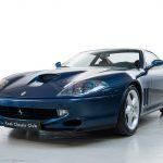 Ferrari 550 Maranello blauw-