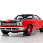 Pontiac RoadRunner rood-