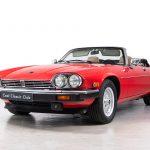 Jaguar XJS rood-