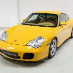Porsche 996 Carrera 4S geel-9136