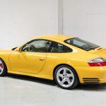Porsche 996 Carrera 4S geel-9150