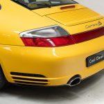 Porsche 996 Carrera 4S geel-9151