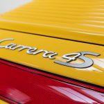 Porsche 996 Carrera 4S geel-9160